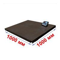Весы с платформой 1000х1000 мм