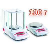 Весы лабораторные НПВ до 100 г