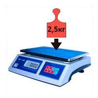 Весы фасовочные НПВ до 2,5 кг