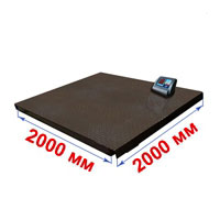 Весы с платформой 2000х2000 мм