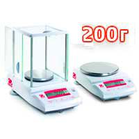 Весы лабораторные НПВ до 200 г