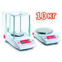 Весы лабораторные НПВ до 10000 г