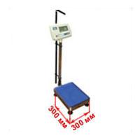Весы с платформой 300х300 мм медицинские