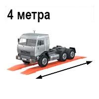 Автомобильные весы 4 метра