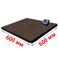 Весы с платформой 600х600 мм