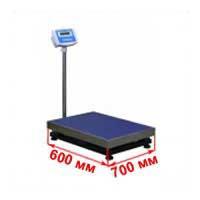 Весы с платформой 600х700 мм