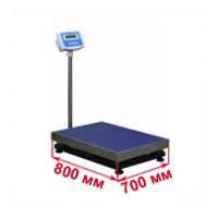 Весы с платформой 700х800 мм