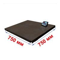 Весы с платформой 750х750 мм