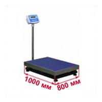 Весы с платформой 800х1000 мм