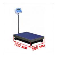 Весы с платформой 500х700 мм