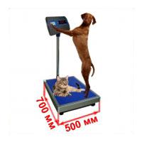 Весы с платформой 500х700 мм ветеринарные