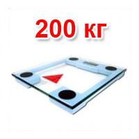 Весы напольные бытовые до 200 кг