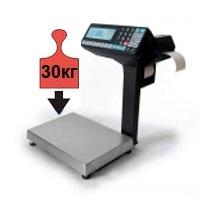 Весы с печатью этикеток и чеков НПВ до 30 кг