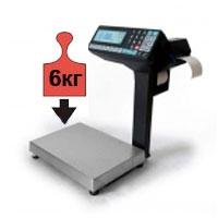 Весы с печатью этикеток и чеков НПВ до 6 кг