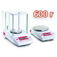Весы лабораторные НПВ до 600 г