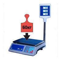 Весы торговые НПВ до 60 кг