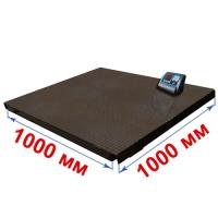 весы платформенные 1000х1000мм «циклоп» МИДЛ