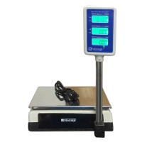 весы «базар» торговые электронные со стойкой нпв до 15 кг Мидл