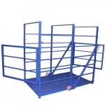 Весы «Живой вес» для взвешивания КРС передвижные до 2000 кг 2000х1000 мм
