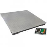 Весы товарные платформенные ВЭТ-1-1000П-1С (1000x1000) до 1000 кг