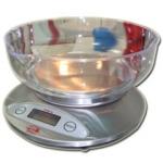 Весы кухонные электронные бытовые 2К810 нерж «Хозяюшка»