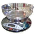 Весы кухонные электронные бытовые 2К810 хром «Хозяюшка»