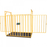 Весы ВЭТ-1-2000П-1С-Ж (1000x1500) для взвешивания животных до 2000 кг
