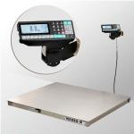Весы «4D-P.S-2-1000-RP» платформенные с печатью этикеток 1000х1250 мм  из нержавеющей стали