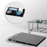 Весы «4D-PM-1-1000-RC» платформенные с печатью чеков платформа 1000х1000 мм