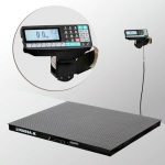 Весы «4D-PM-1-1000-RP» платформенные с печатью этикеток платформа 1000х1000 мм