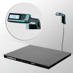 Весы «4D-PM-1-1000-RL» платформенные с печатью этикеток платформа 1000х1000 мм