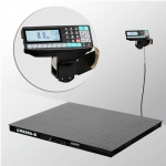 Весы «4D-PM-2-1500-RP» платформенные с печатью этикеток платформа 1200х1000 мм