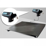 Весы «4D-PM-1000-RP» электронные платформенные 1200х1200 мм с печатью чеков