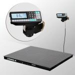 Весы «4D-PM-3-3000-RP» платформенные с печатью этикеток платформа 1500х1200 мм