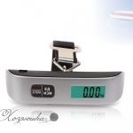 Безмен для багажа электронный EL 11 «Хозяюшка» до 50 кг
