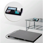 Весы «4D-PM-7-6000-RC» платформенные с печатью чеков платформа 2000х1500 мм