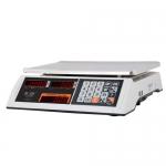 Торговые настольные весы M-ER 327AC-32.5 LED Ceed II белые