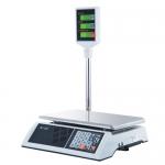 Торговые настольные весы M-ER 327ACP-32.5 LCD Ceed белые