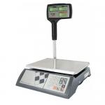 Торговые настольные весы M-ER 327ACPX LCD Ceed X черные