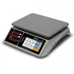 Торговые настольные весы M-ER 328 AC Touch-M LED RS232