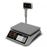 Торговые настольные весы M-ER 328 AC(PX)-32.5 Touch-M LED RS232 и USB