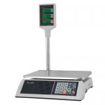 Торговые настольные весы M-ER 326ACP LCD Slim