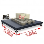 Весы «ВП-2000» платформенные до 2000 кг платформа 1250х1250 мм