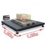 Весы «ВП-3000» платформенные до 3000 кг платформа 1250х1250 мм