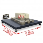 Весы «ВП-5000» платформенные до 5000 кг платформа 1250х1500 мм