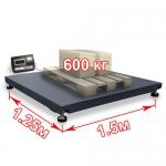 Весы «ВП-600» платформенные до 600 кг платформа 1250х1500 мм