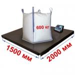 Весы «Циклоп» платформенные до 600 кг платформа 1500х2000 мм