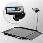 Весы «4D-LA-2-1000-RP» низкопрофильные с печатью этикеток 1000х1000 мм с пандусами