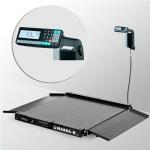 Весы «4D-LA-2-1000-RL» низкопрофильные с печатью этикеток 1000х1000 мм с пандусами