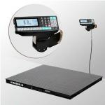 Весы «4D-P-2-1500-RP» платформенные с печатью этикеток платформа 1000х1250 мм